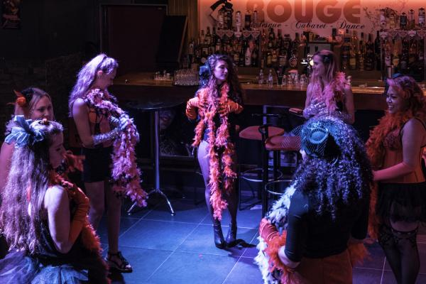 Workshop Burlesque in Gent